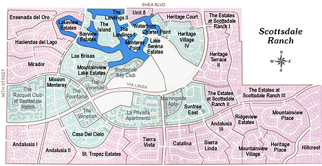 Scottsdale Ranch Subdivision Neighborhoods